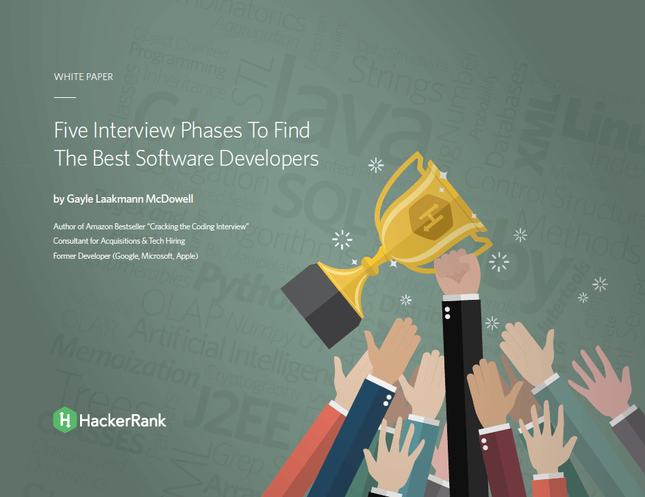 Five Interview Phases To Find The Best Software Developers